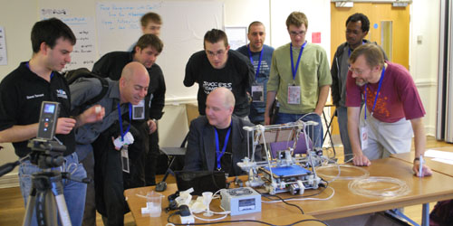 RepRap demo at Dev8D